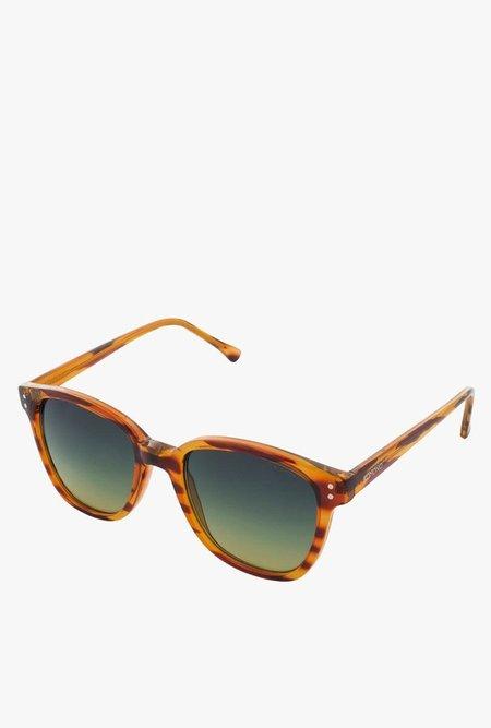 KOMONO Renee Sunglasses - Line Tortoise