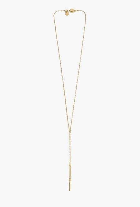 Ak Studio String Necklace - Brass