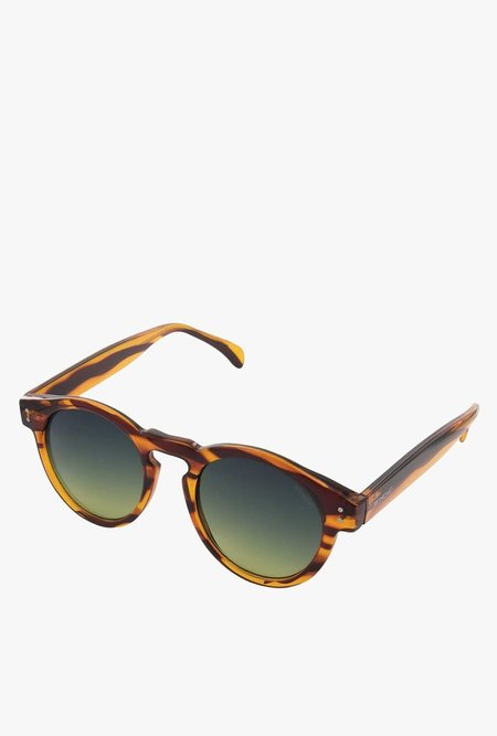 KOMONO Clement Sunglasses - Line Tortoise
