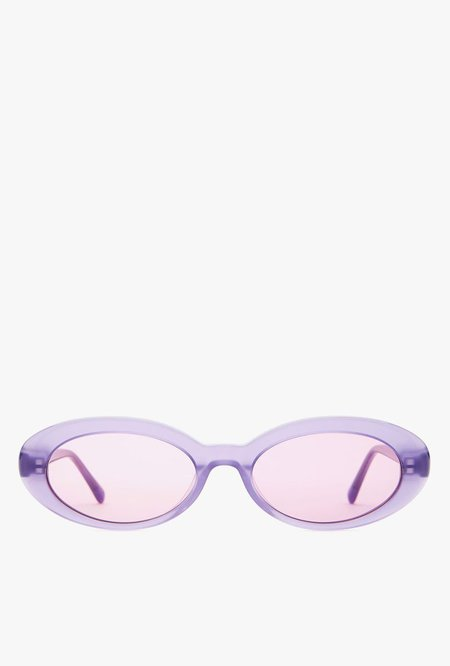 Crap Eyewear The Sweet Leaf Sunglasses - Deep Purple