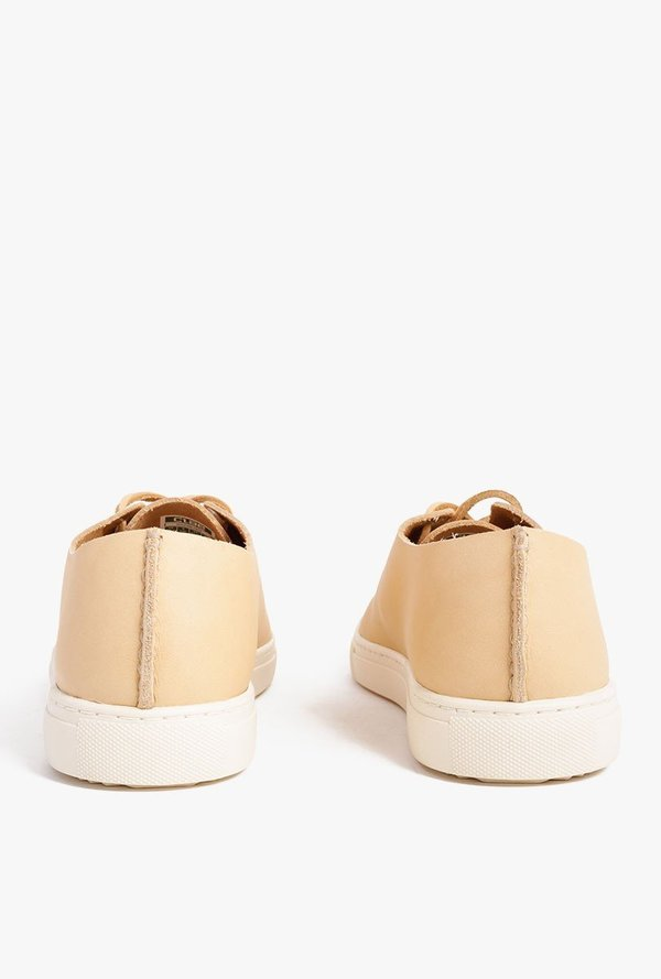 Clae One Piece Leather Shoe Tan Garmentory