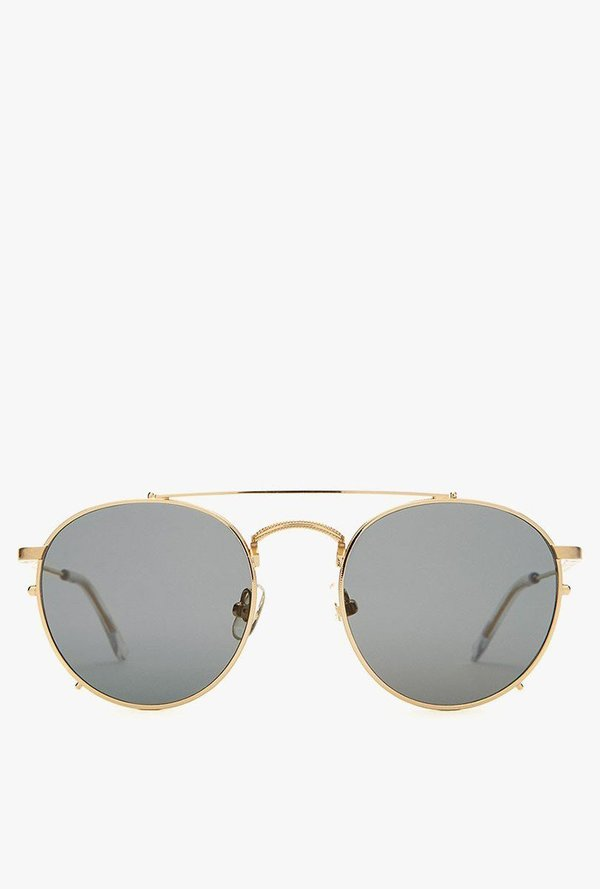 b14513c66d6 Crap Eyewear The Tuff Safari Sunglasses - Brushed Gold