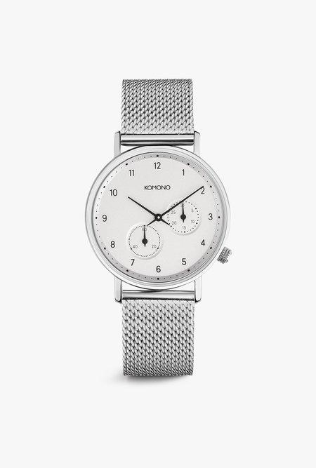 KOMONO Walther Watch - Silver