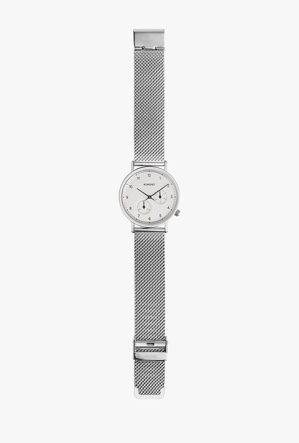 KOMONO Walther Watch - Silver