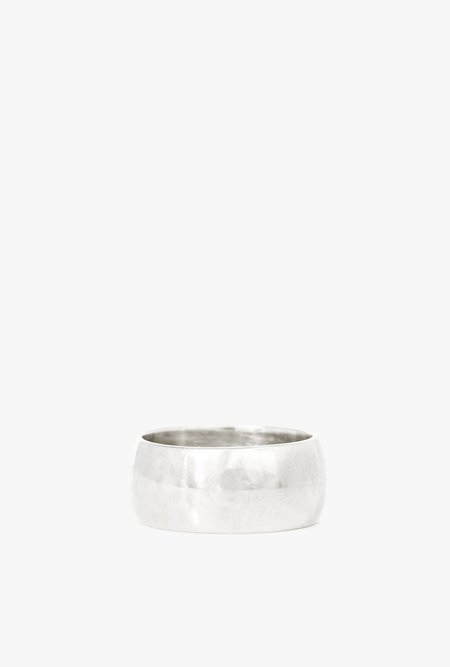 I Like It Here Club Young Americans Cigar Band - sterling silver