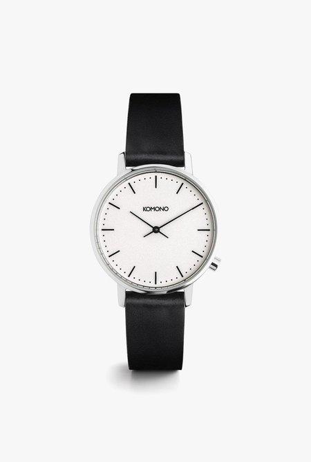 KOMONO Harlow Watch - Black/White