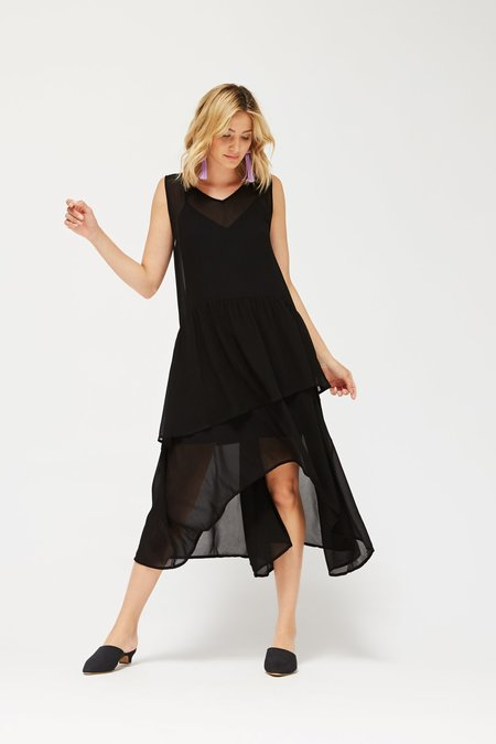 Lacausa Lillie Dress - Tar