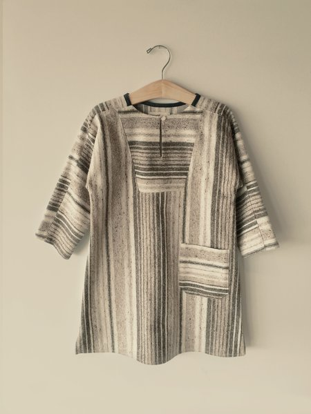 KIDS Boy+Girl Vickie Tunic - Brown Stripe