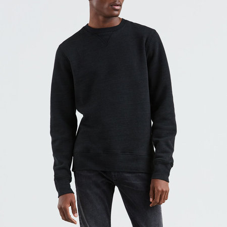 Levi's Made & Crafted Crewneck Sweatshirt - Caviar Heather