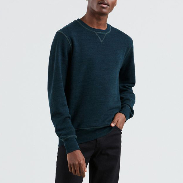 Levi's Made & Crafted Crewneck Sweatshirt - Blueshade Heather