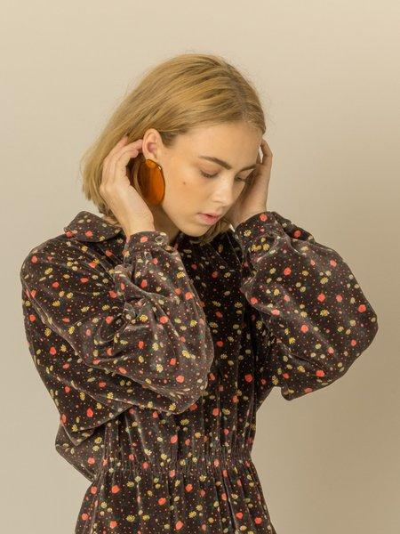 Julie Thévenot Reflection Earrings - Amber