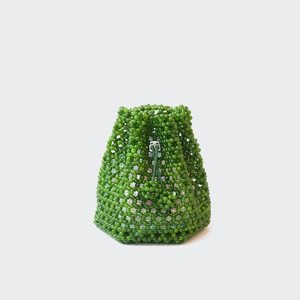 Not Impressed Tulipa Bag - Faux Jade