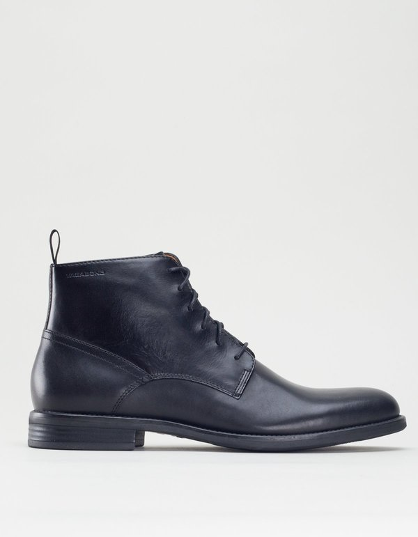 Vagabond salvatore lace-up boot - black