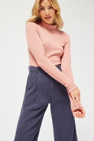 Lacausa Sweater Rib Turtleneck
