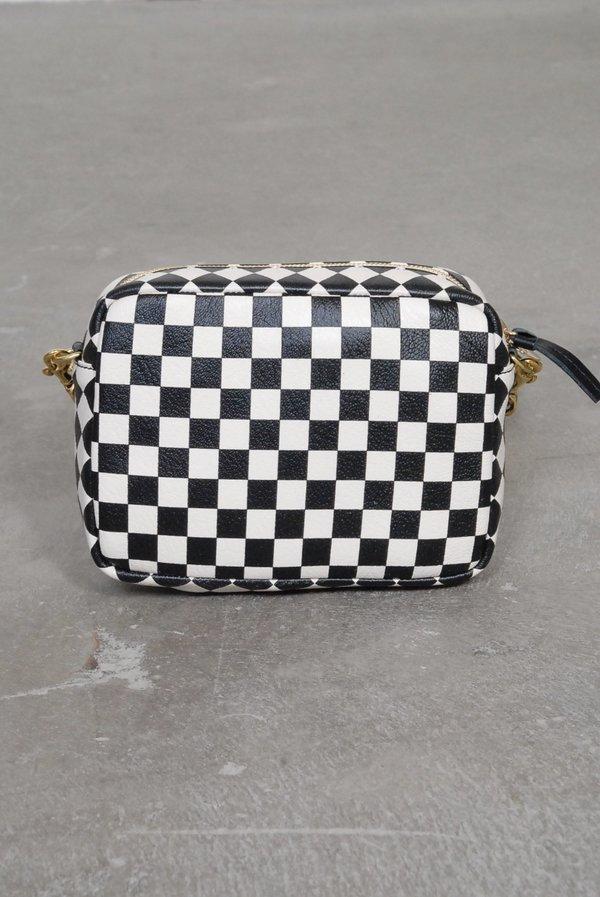 2018085a6de00 Clare V. Midi Sac Crossbody Bag - Checker Print on Garmentory
