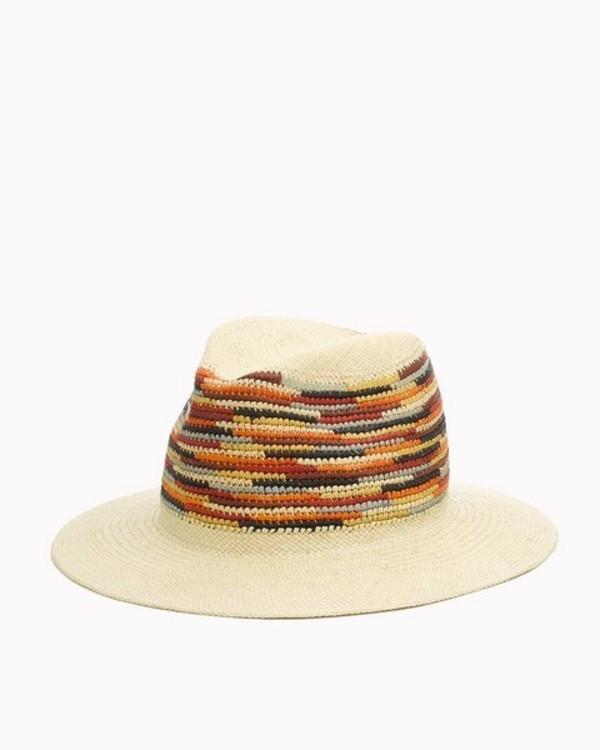 a5a904311794a5 Rag & Bone Colorful Panama Hat - Multi | Garmentory