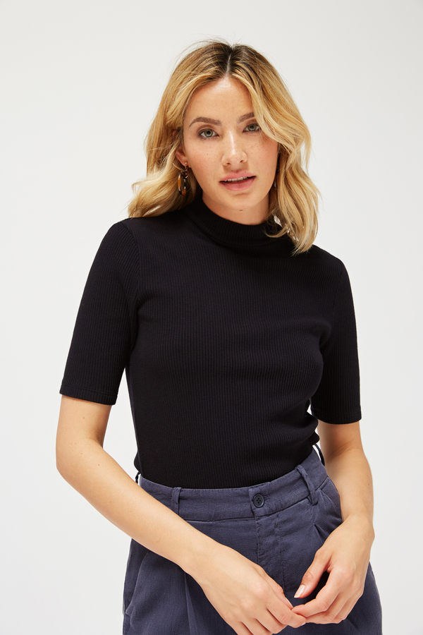 Lacausa Sweater Rib Mockneck