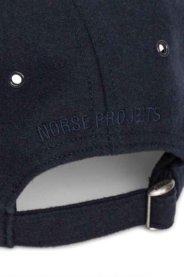 2660001e3ef Norse Projects Waterproof Wool Sports Cap - Dark Navy | Garmentory