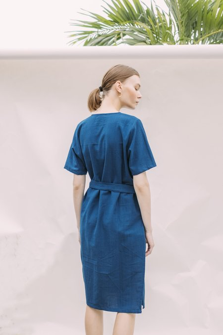 Seeker x Retriever Leisure Dress - Indigo