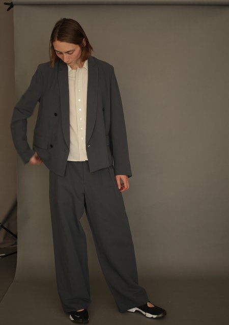Edwina Hoerl Jacket - Grey Blue