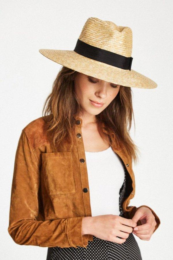 f0b74ef8d2f78 Brixton Joanna Hat - Honey