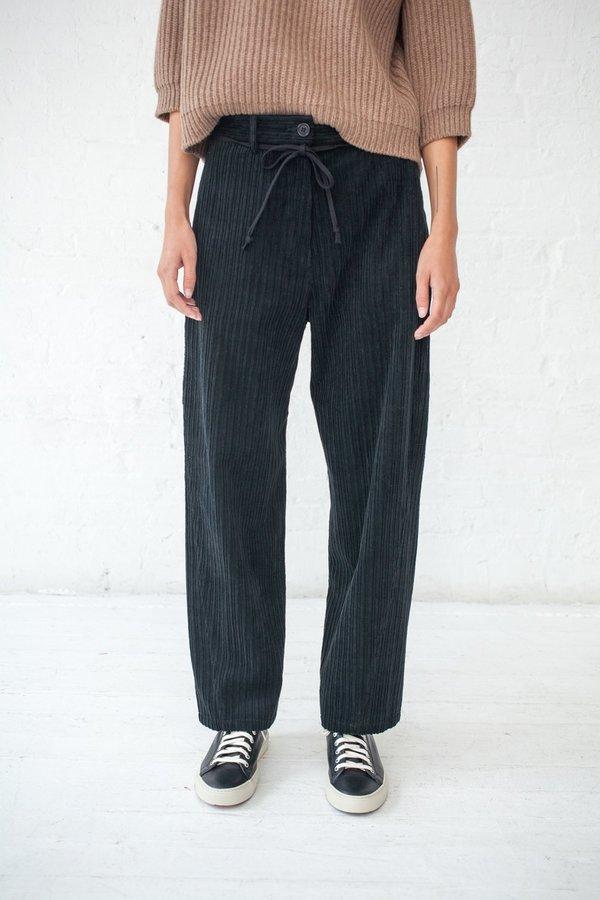 298df584 Hache Velvet Cord Pant - Black   Garmentory