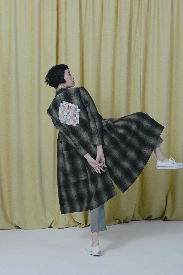 Carleen Vera Coat W/ Patch
