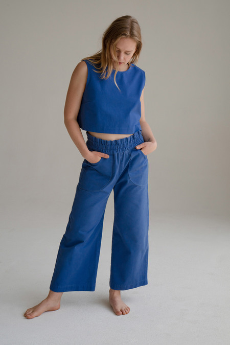 Don't Worry Baby California Pants - Blue