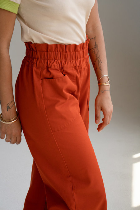 Don't Worry Baby California Pants - Tangerine