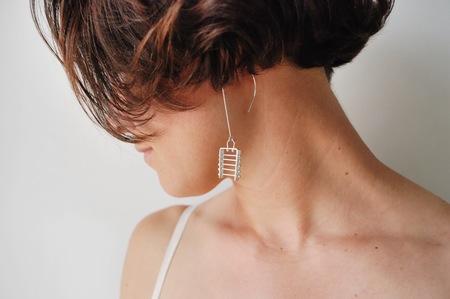 M. Hisae Sterling Silver Aiya Earrings - Sterling Silver