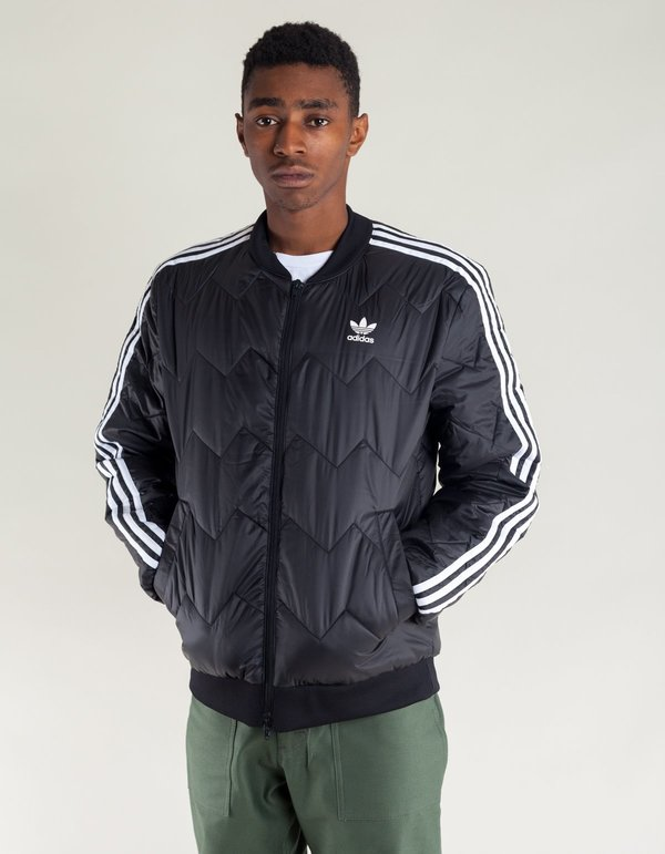 81f28309f Adidas SST Quilted Bomber - Black. sold out. Adidas · Outerwear · Jackets