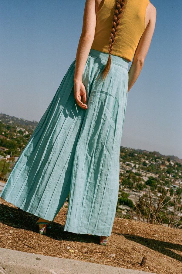Mara Hoffman Belinda Pant - Sky Blue