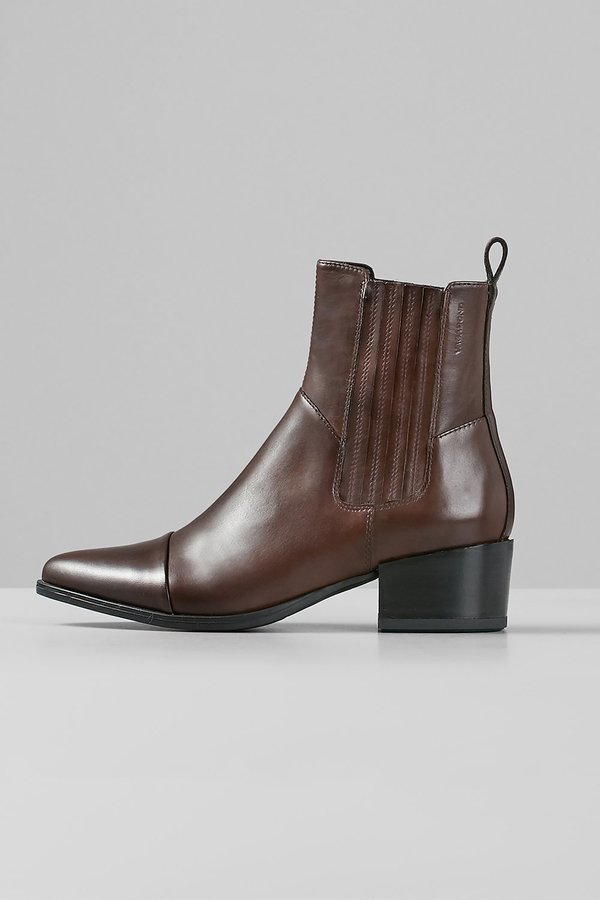 Vagabond marja leather boots - espresso
