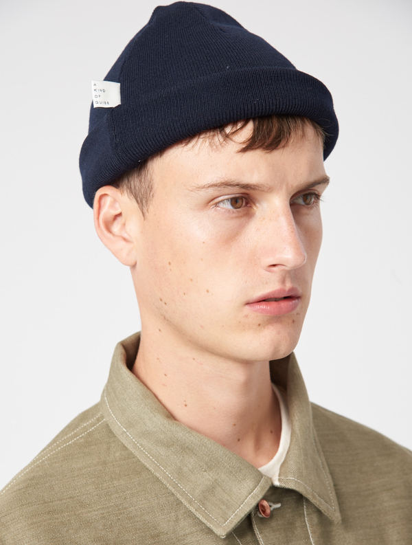 A Kind Of Guise Classic Beanie - NAVY  3beb99758ae2
