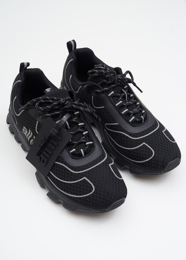 all in Reflective Tennis Shoes - Black