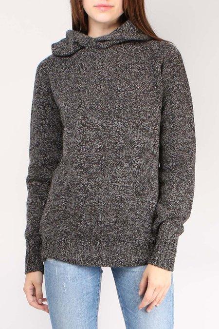 Ma'ry'ya Hoodie Sweater - Dark Grey