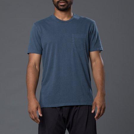 Freemans Sporting Club Garment Dyed Pocket Tee - Dark Navy