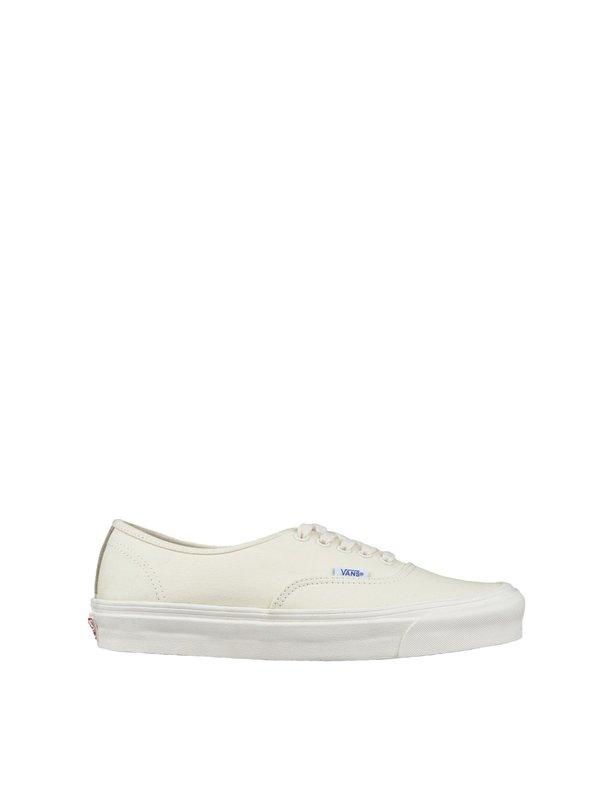 21c7dc10bf Vans Vault UA Authentic LX Canvas Suede Sneakers - Off White ...