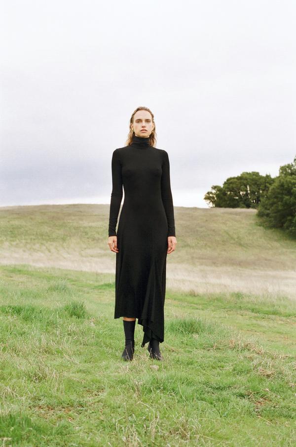 Kamperett Moor Turtleneck Dress