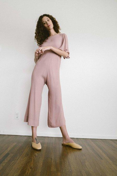 Maria Stanley Bijou Jumpsuit - Blush Dot