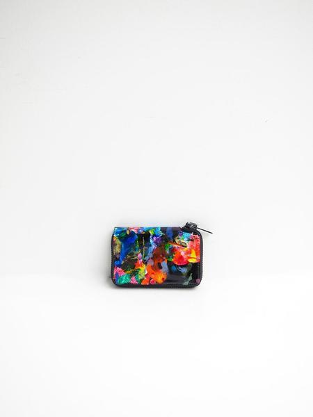 Macromauro Paint Wallet - Black Multi