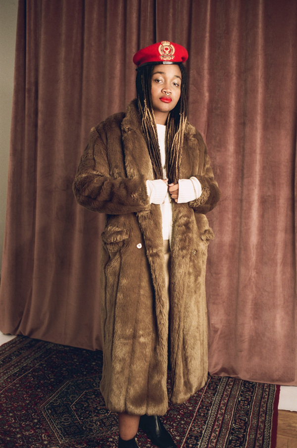 Suzanne Rae Faux Fur Coat