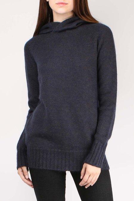Ma'ry'ya Hoodie Sweater - Anthracite