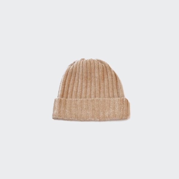 4310fe659ae Creatures of Comfort Cashmere Wide Rib Beanie - Café. sold out