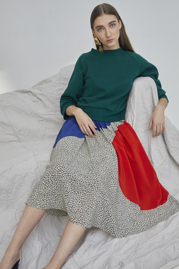 WHiT Geo Skirt