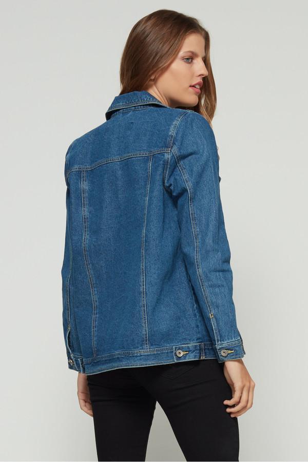 size 40 4a886 ded1c VERO MODA Oversize Denim Jacket