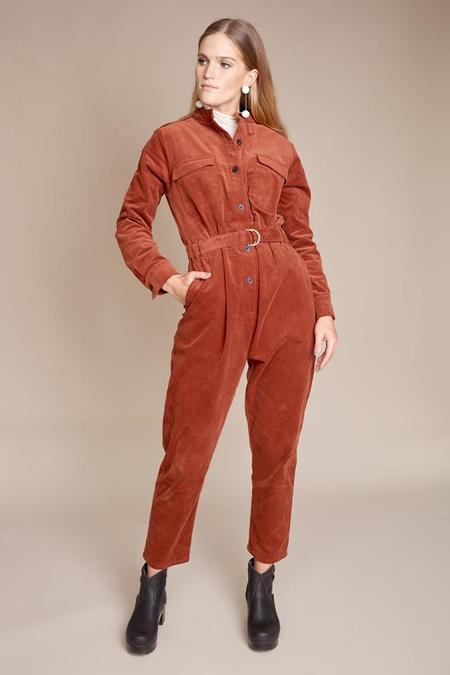 Apiece Apart Keon Flight Suit - Cognac