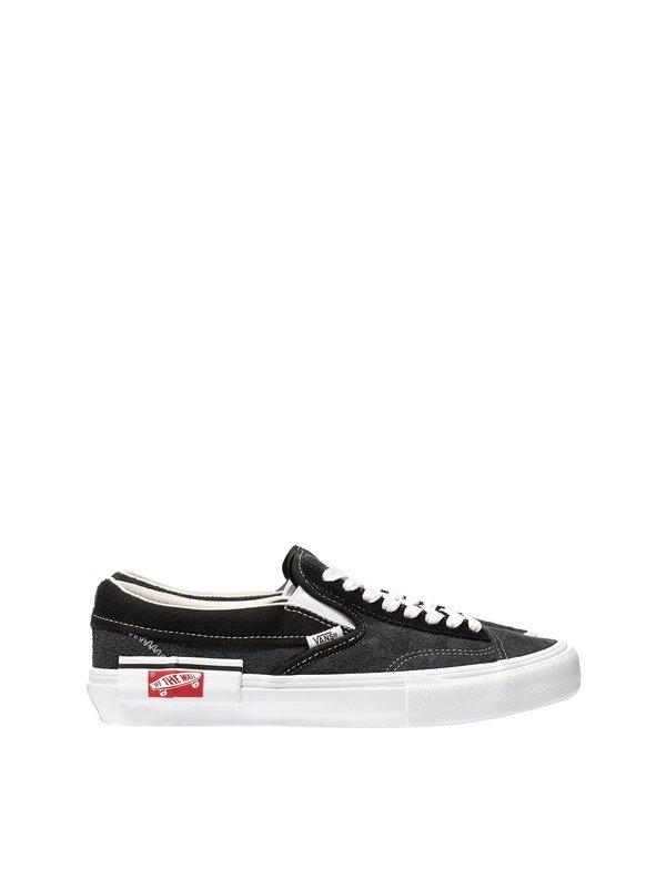 Vans Vault UA Cap LX Slip On - Black True-White Black  be89a6a4e