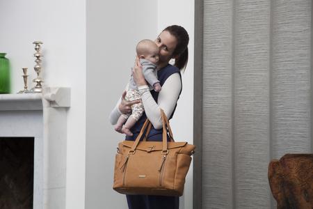 KIDS Storksak Emma Diaper Bag - Tan