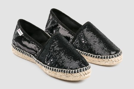 Espadrilles Sequins Espadrilles - Black